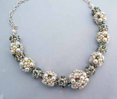 Summer White Pearls, Necklace