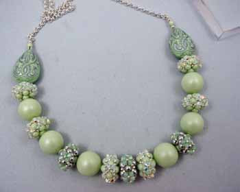 Bountiful Beaded bead Necklace pattern only
