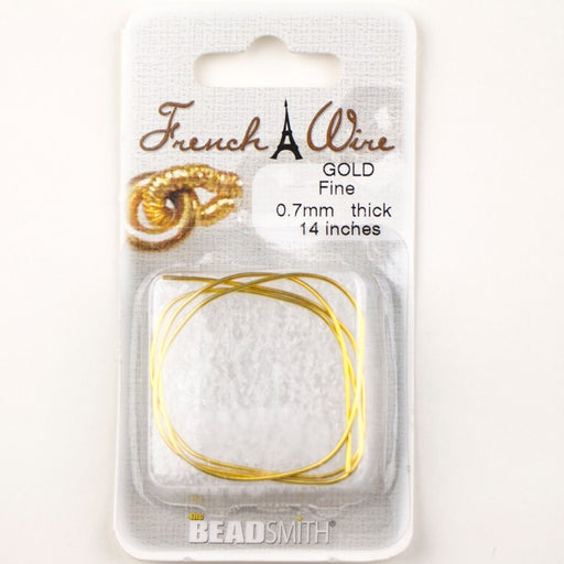 Gold 0.7mm French Wire Fine