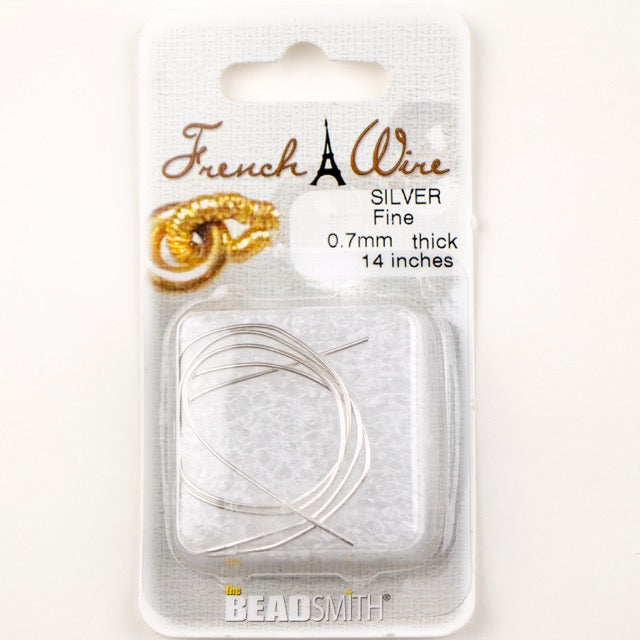Silver 0.7mm French Wire Fine