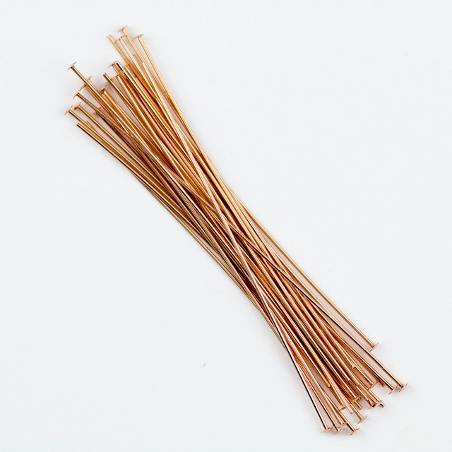"2"" Head Pin .020""/.5mm/24  gauge. - Head Diameter 1.2-1.25mm"