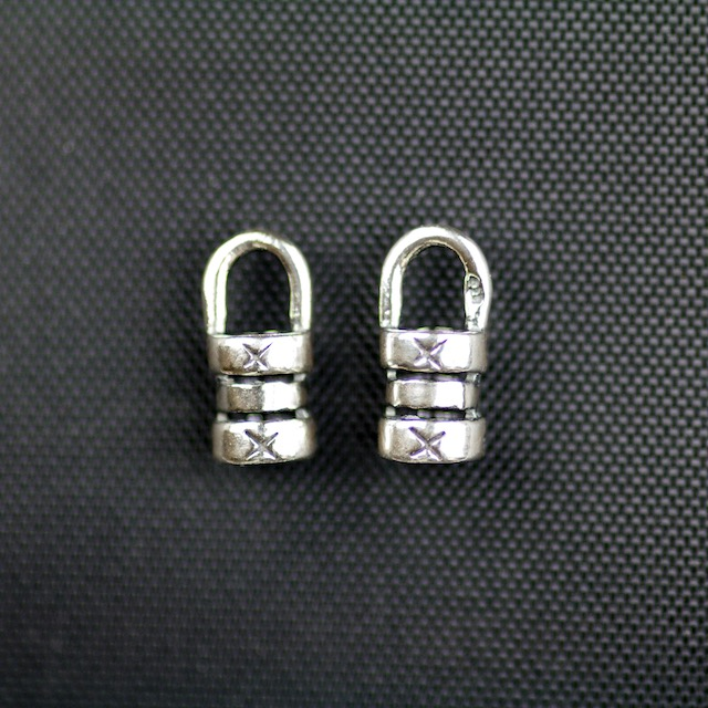 Sterling Silver Crimp with 3mm Hole