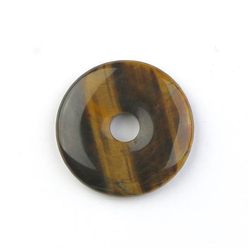 40mm TIGER EYE Donut Pendant