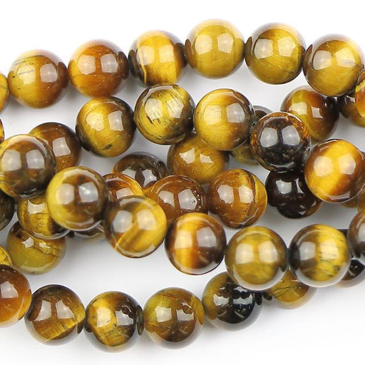 8mm  TIGER EYE