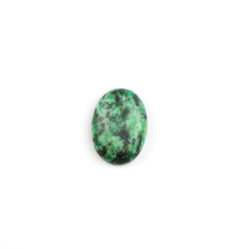 18mm x 13mm Matte AFRICAN TURQUOISE Oval Cabochon