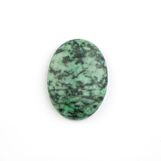 30mm x 22mm Matte AFRICAN TURQUOISE Oval Cabochon