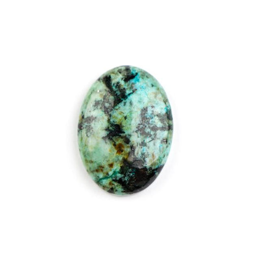 30mm x 22mm AFRICAN TURQUOISE Oval Cabochon