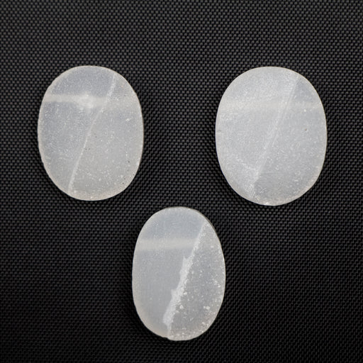 13x18mm -15x20mm DRUZY Agate Half Smooth Oval***