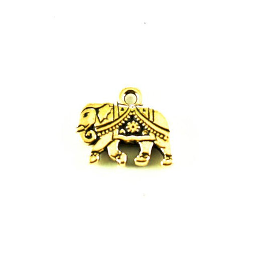 Gita Charm - Antique Gold