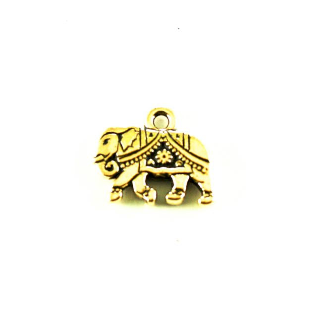 Gita Charm - Antique Gold Plate