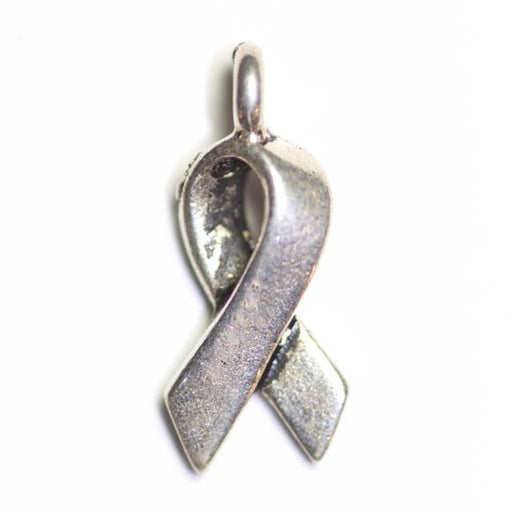 Awareness Charm - Antique Silver Plate