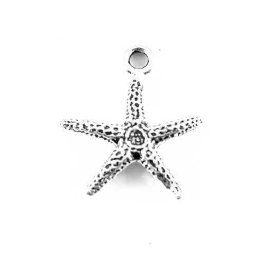 Seastar Charm - Antique Silver Plate