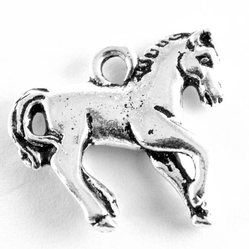Yearling Charm - Antique Silver Plate
