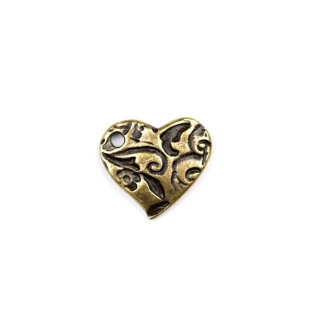 Amor Charm - Oxidized Brass