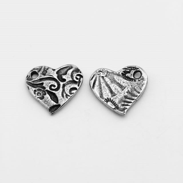 Amor Charm - Antique Pewter