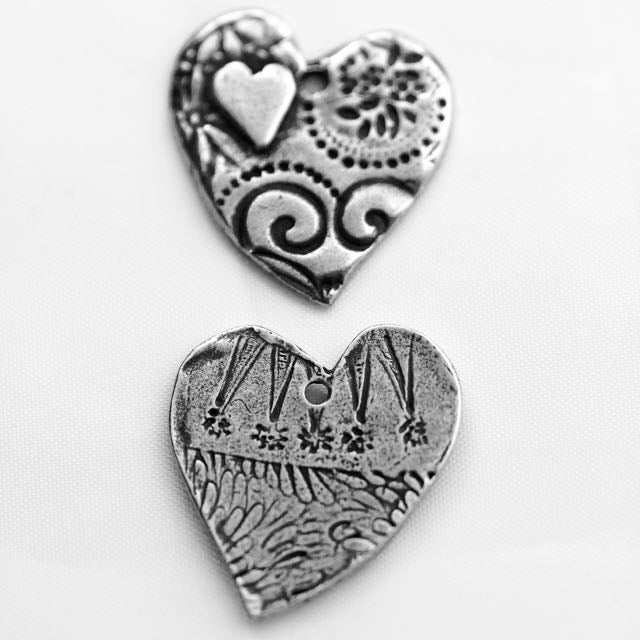 Amor Pendant- Antique Pewter