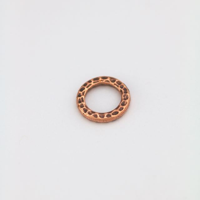 Medium Ring Link - Antique Copper Plate