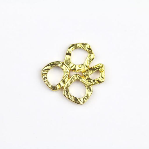 INTERMIX 4 Ring Link - Gold