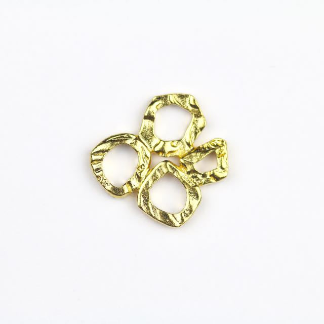 INTERMIX 4 Ring Link - Gold Plate
