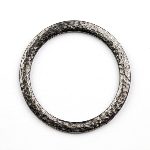 Hammertone 1.25 inch Ring - Black***