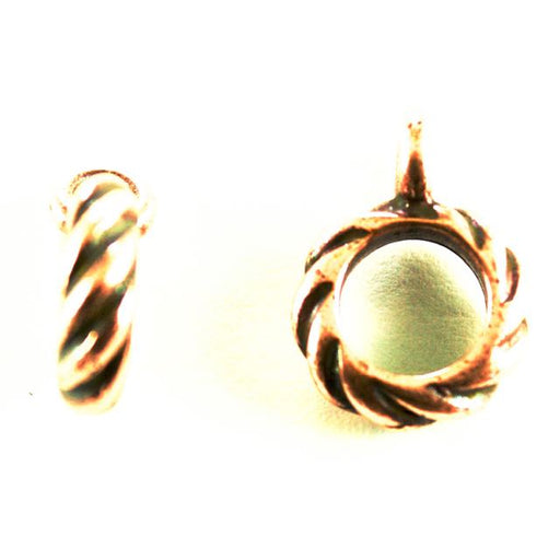 Twisted Bail - Antique Copper