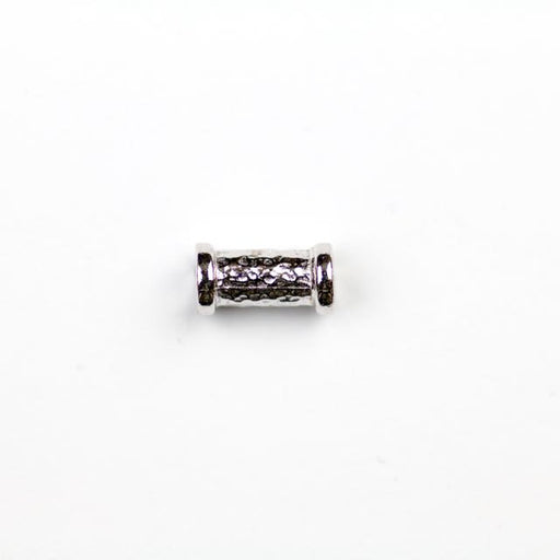 Hammered Tube Bead (10.8mm x 5.6mm 2mm Hole) - Rho