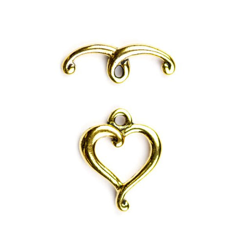 Jubilee Clasp Set - Antique Gold Plate