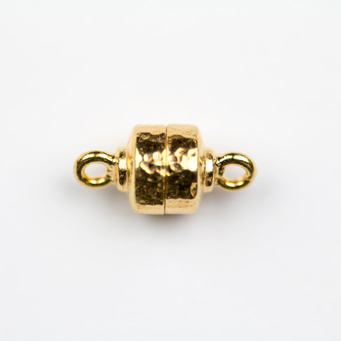 Hammertone Magnetic Clasp - Gold Plate