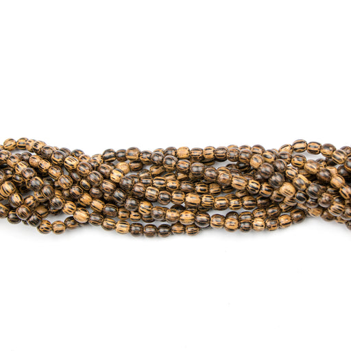 6.0mm Round OLD PALMWOOD - 16 inch Strand***