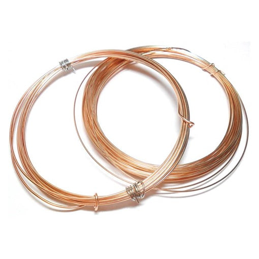 18swg (1.2mm) Bronze Wire - 10 Feet