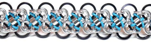 HyperLynks Arabesque Bracelet - Black and Azure