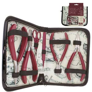 6-Piece Tool Set in Padded, Zippered Travel Case***