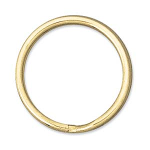 24mm Split Rings - Gold Plate
