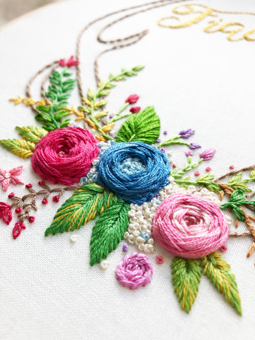 Hand Embroidery Workshop for Beginners