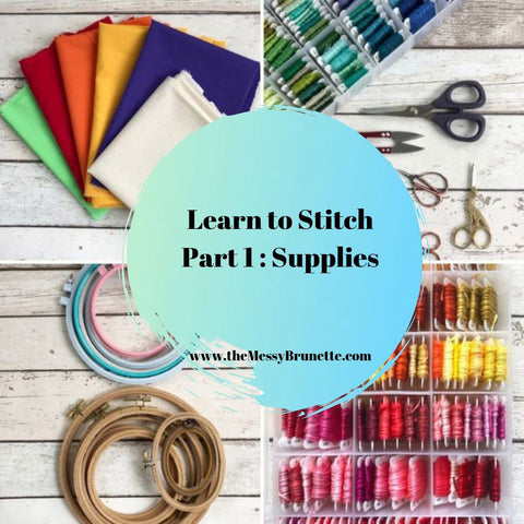 learn to stitch all about embroidery supplies