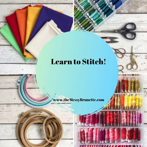learn to stitch all about hand embroidery and how to start
