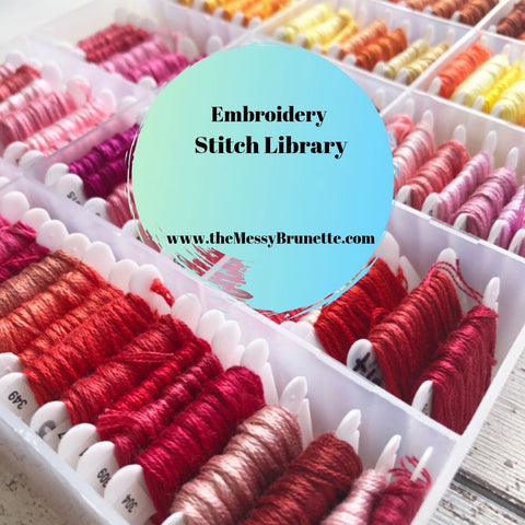 embroidery stitch library