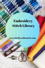 embroidery stitches how to