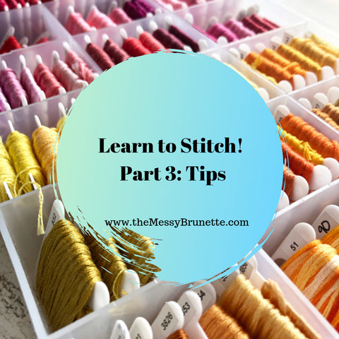 learn to stitch some embroidery tips and tricks