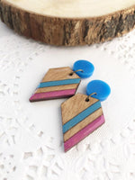 Laser Cut Geometric Summer Earrings