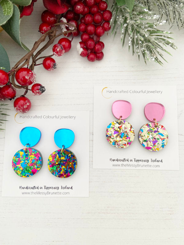 Statement Colourful Earrings in various colours