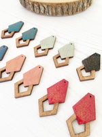 Geometric Earrings in various colours