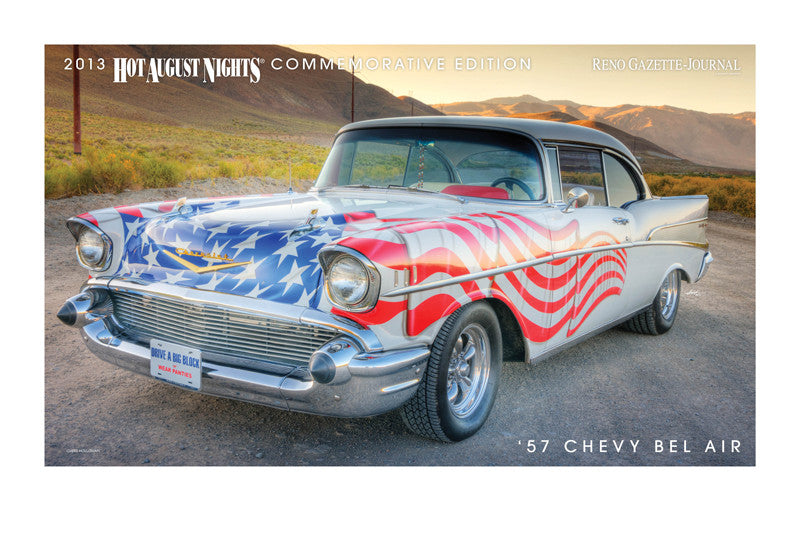 1957 Chevy Bel Air Hot August Nights Poster