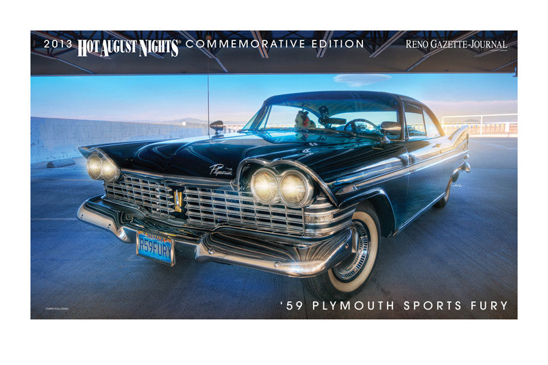 1959 Plymouth Sports Fury Hot August Nights Poster