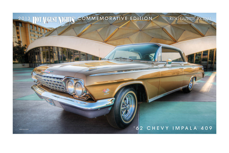 1962 Chevy Impala 409 Hot August Nights Poster