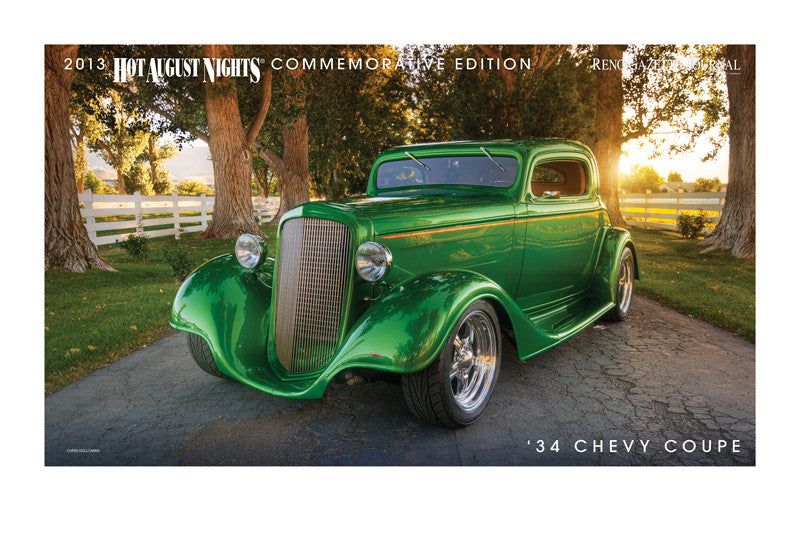 1934 Chevrolet Coupe Hot August Nights poster