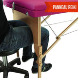 Table pliante thérapeutique de massage rose 3 zones