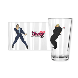 YANG v. TRUMP / PINT GLASS