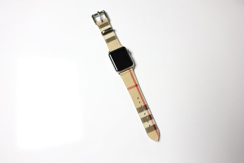 Custom Veg Tan Watchband