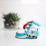 Hand-Made Off-White 'UNC' Booties